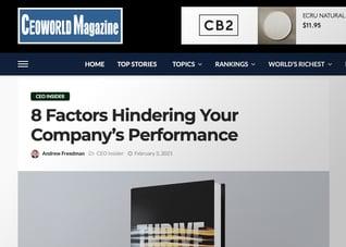 CEO World Magazine Preview